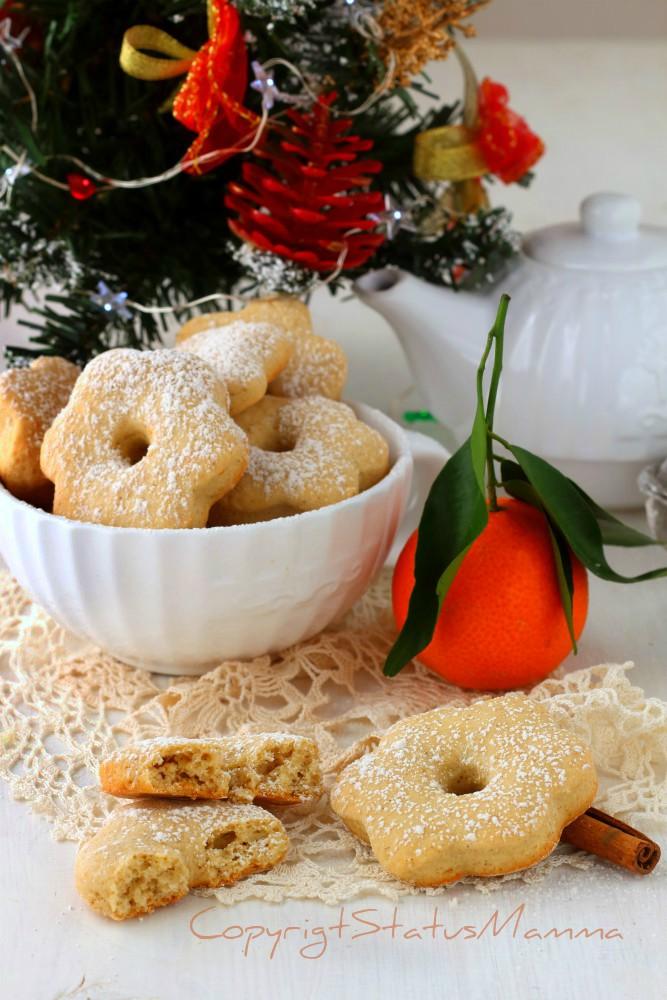 Canestrelli cannella e mandarino morbidi e friabili