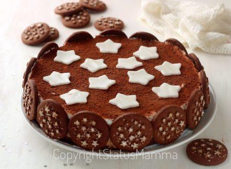 Torta con biscotto pan di stelle