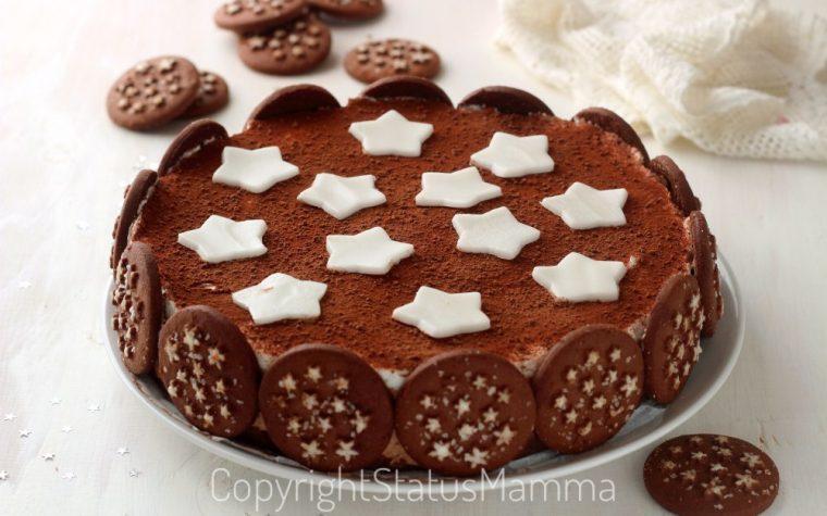 Torta con biscotto pan di stelle ricetta furba
