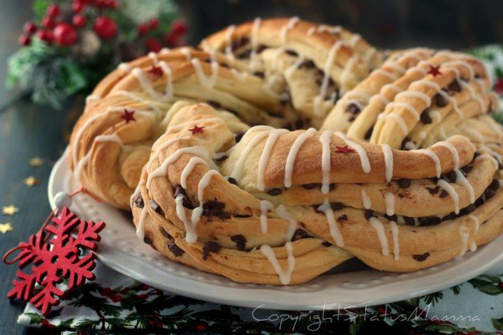 Torta Angelica di Natale facile soffice lievitato ricetta bimby