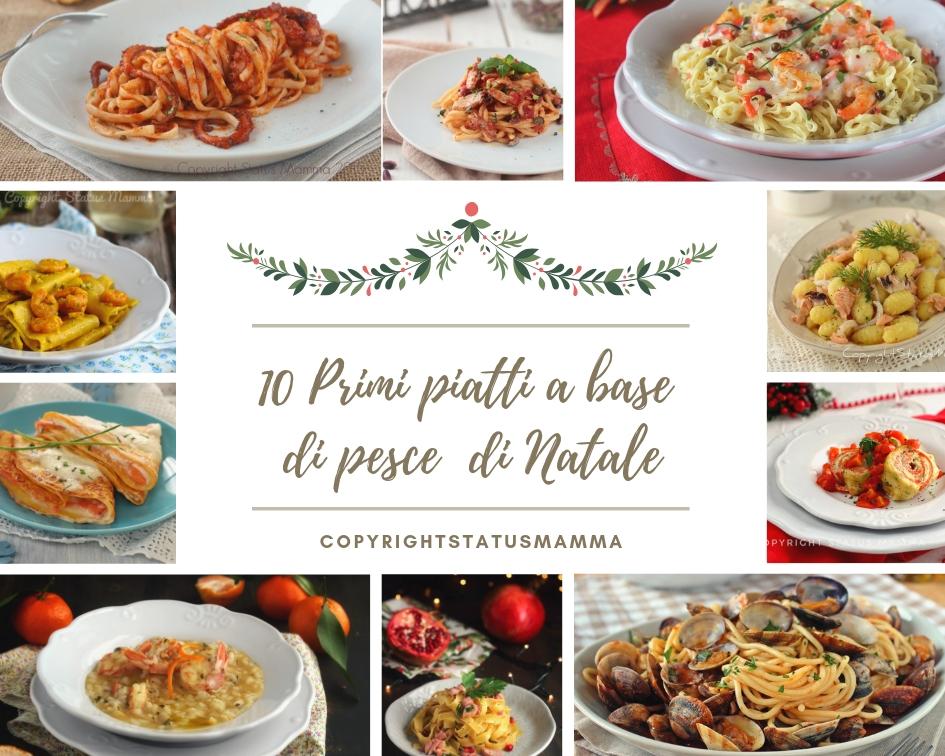 10 Primi piatti a base di pesce per le feste di Natale