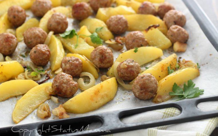 Polpette al forno dal risultato morbido con patate