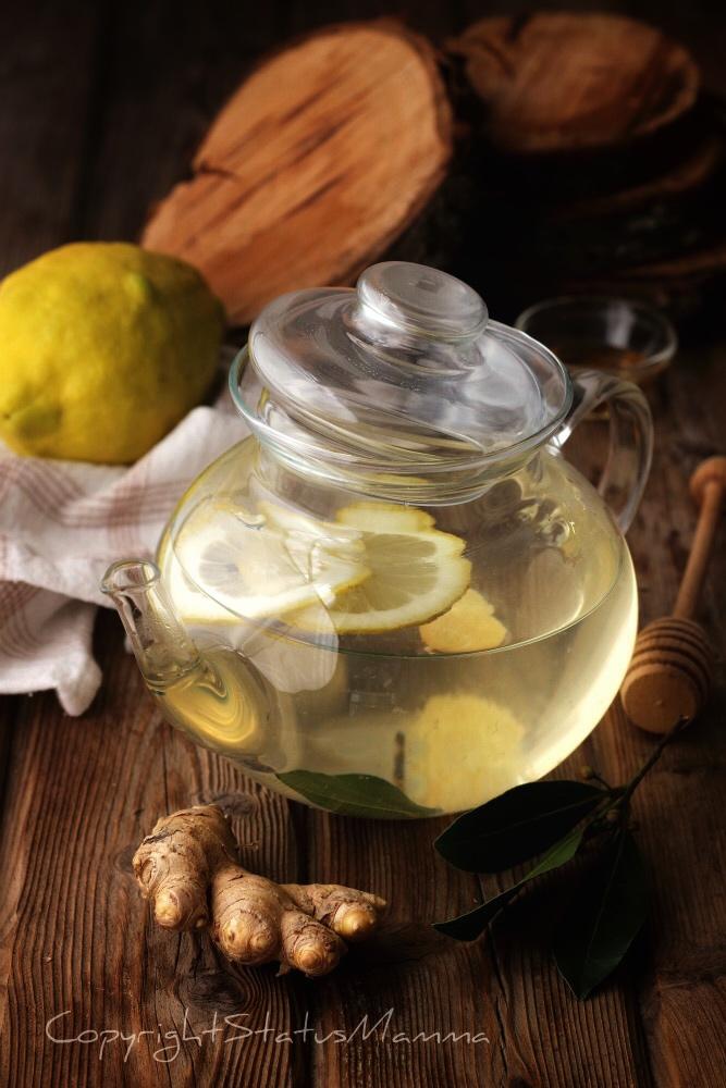 tisana detox zenzero limone disintossicante digerente vegetariana facile della nonna come si fa