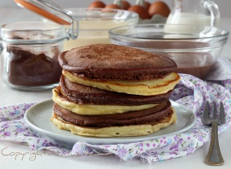 Pancake ricetta base anche al cacao