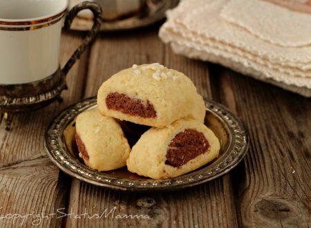 Biscotto bicolore da inzuppo della nonna