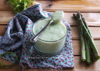 RICETTE CON LE VERDURE DI MAGGIO - Besciamella agli asparagi salsa facile