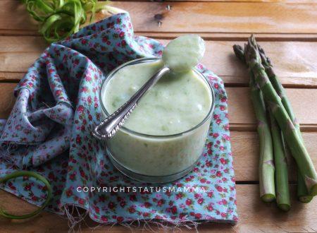 Besciamella agli asparagi salsa facile