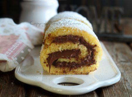Rotolo alla Nutella slurp – pronto in 15 minuti