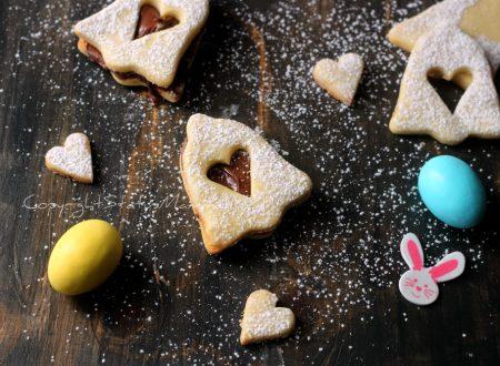BISCOTTI ALLA NUTELLA di PASQUA – ricetta friabile e golosa
