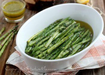 ricette verdure di maggio ASPARAGI MARINATI - contorno facile