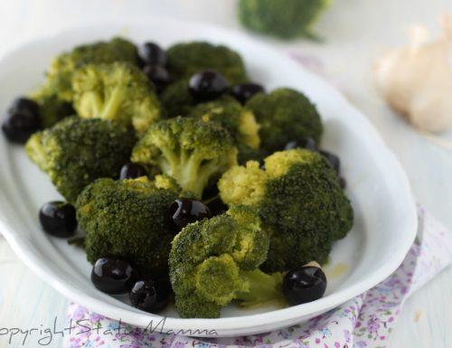 BROCCOLI ALLA SICILIANA con le olive