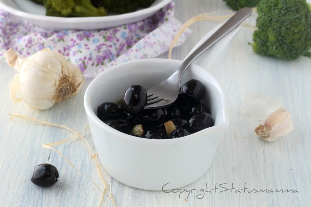OLIVE ALLA SICILIANA - ricetta facile e veloce sfiziosa