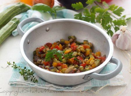 Ratatouille di verdure ricetta