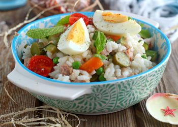 Insalata di riso perfetta da preparare anche in anticipo