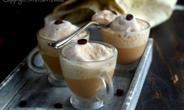 Cappuccino ice ricetta senza panna