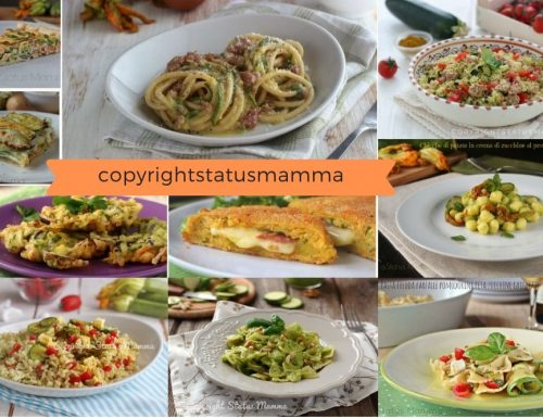 10 ricette infallibili con le zucchine