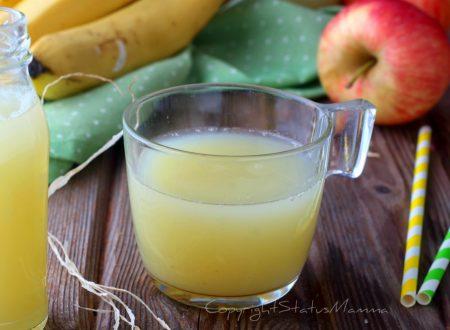 Succo di frutta mela banana anche bimby