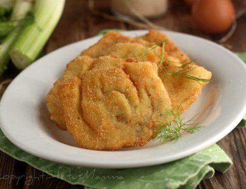 COTOLETTE AI FINOCCHI AL FORNO, ricetta semplice senza frittura.