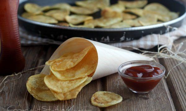CHIPS di PATATE metodi e cotture  croccanti e asciutte