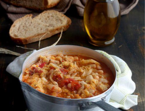 Zuppa di Verza e fagioli anche bimby