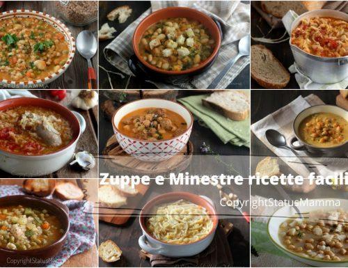 ZUPPE E MINESTRE ricette facili