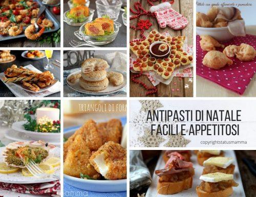 ANTIPASTI DI NATALE facili e appetitosi