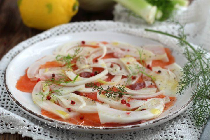 RICETTE di Natale dall'antipasto al secondo carpaccio salmone menu di natale