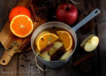 Brulè all'arancia e mela : Il brulè è una bevanda tipica invernale che si presta benissimo a riscaldare le fredde serate in giro o a casa