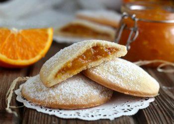 biscotti morbidi alla marmellata