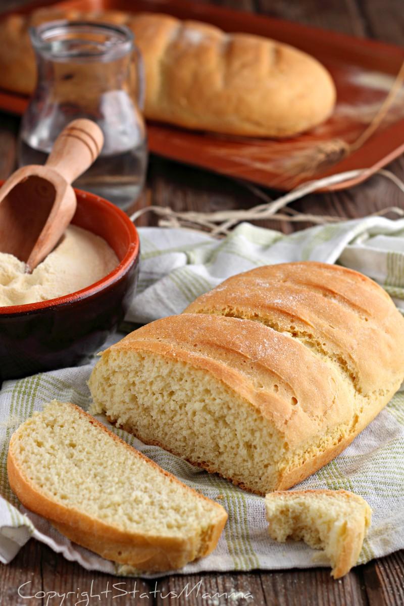 filoncino alla semola di grano duro pane fatto in casa
