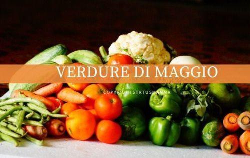 RICETTE CON LE VERDURE DI MAGGIO