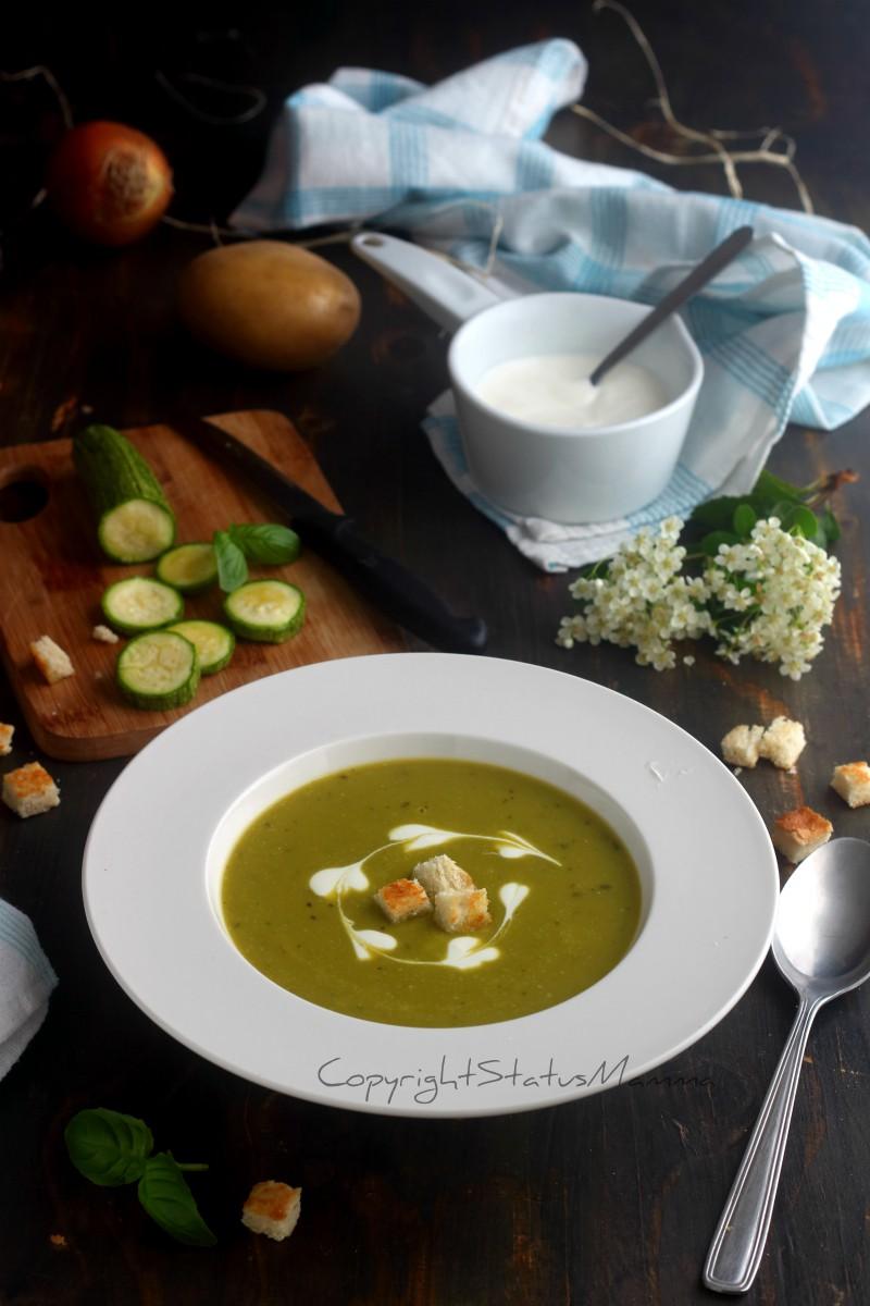 Crema di zucchine e patate anche bimby