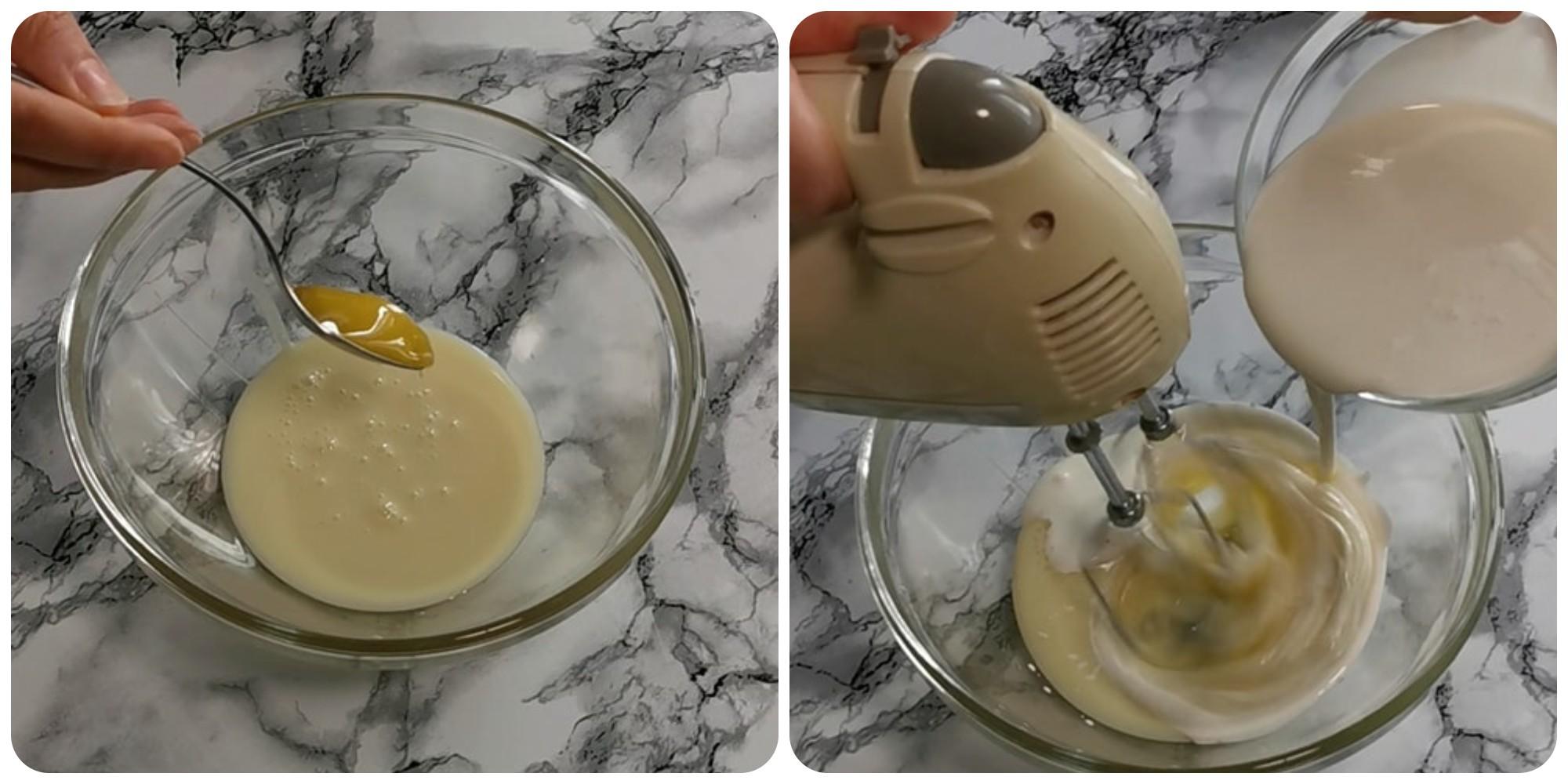 tortini ai pavesini con crema paradiso