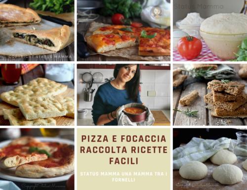PIZZA E FOCACCIA RACCOLTA RICETTE FACILI