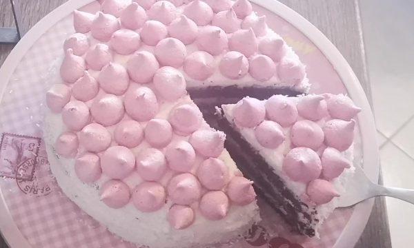 Torta Beatrice ,soffice cocco e cacao
