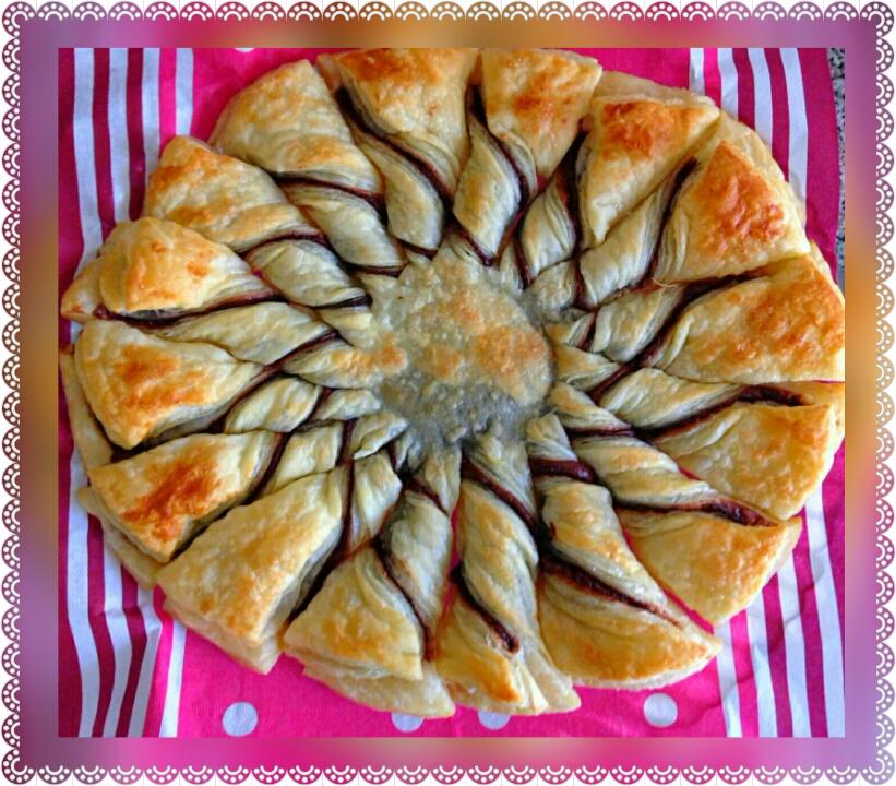 Ricerca Ricette con Girasole pasta sfoglia e nutella - GialloZafferano
