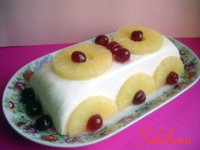 Semifreddo all'ananas