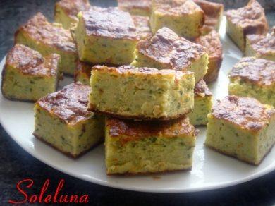 Zucchini bites dell'Araba Felice