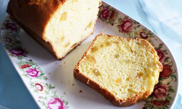 Cake alla ricotta e canditi