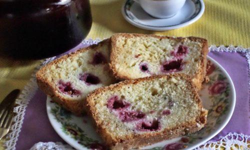 Cake ai lamponi