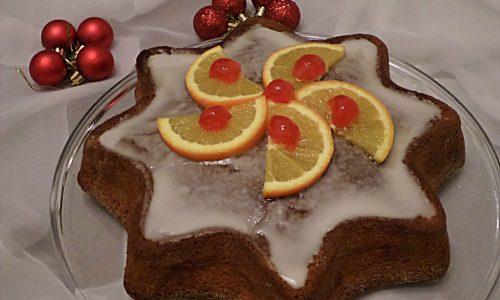 Stella di Natale all'arancia