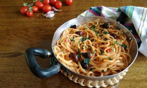 Spaghetti alla puttanesca per Quanti Modi di Fare e Rifare