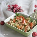 Insalata di tacchino con salsa di pomodoro - antipasto natalizio