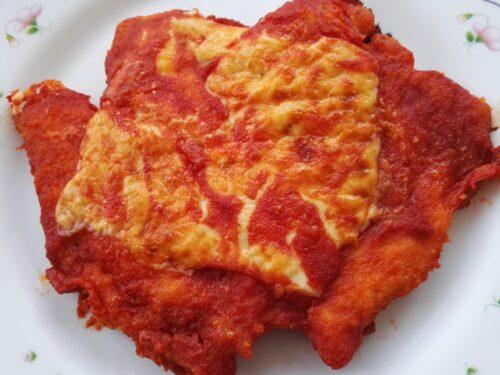 Cotoletta di pollo alla parmigiana