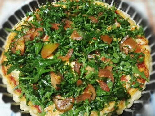 Pizza alla crudaiola