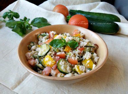 Panzanella alle verdure