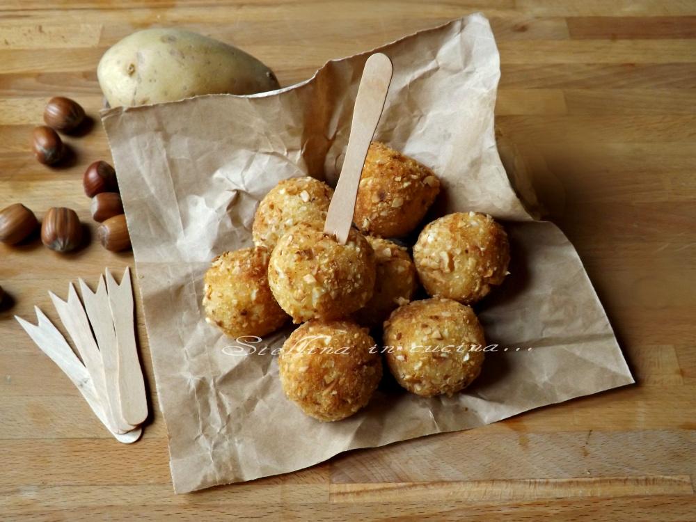Crocchette di patate alle nocciole