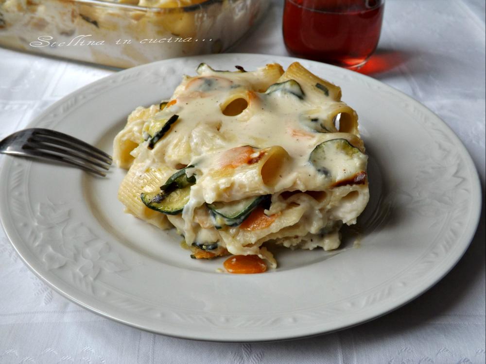 Pasta al forno leggera con verdure ricetta light gustosa for Cucinare zucchine al forno