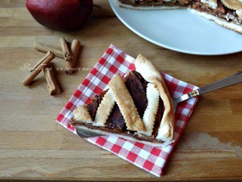 Crostata sablè mele e cannella – ricetta dolce 100% vegetale