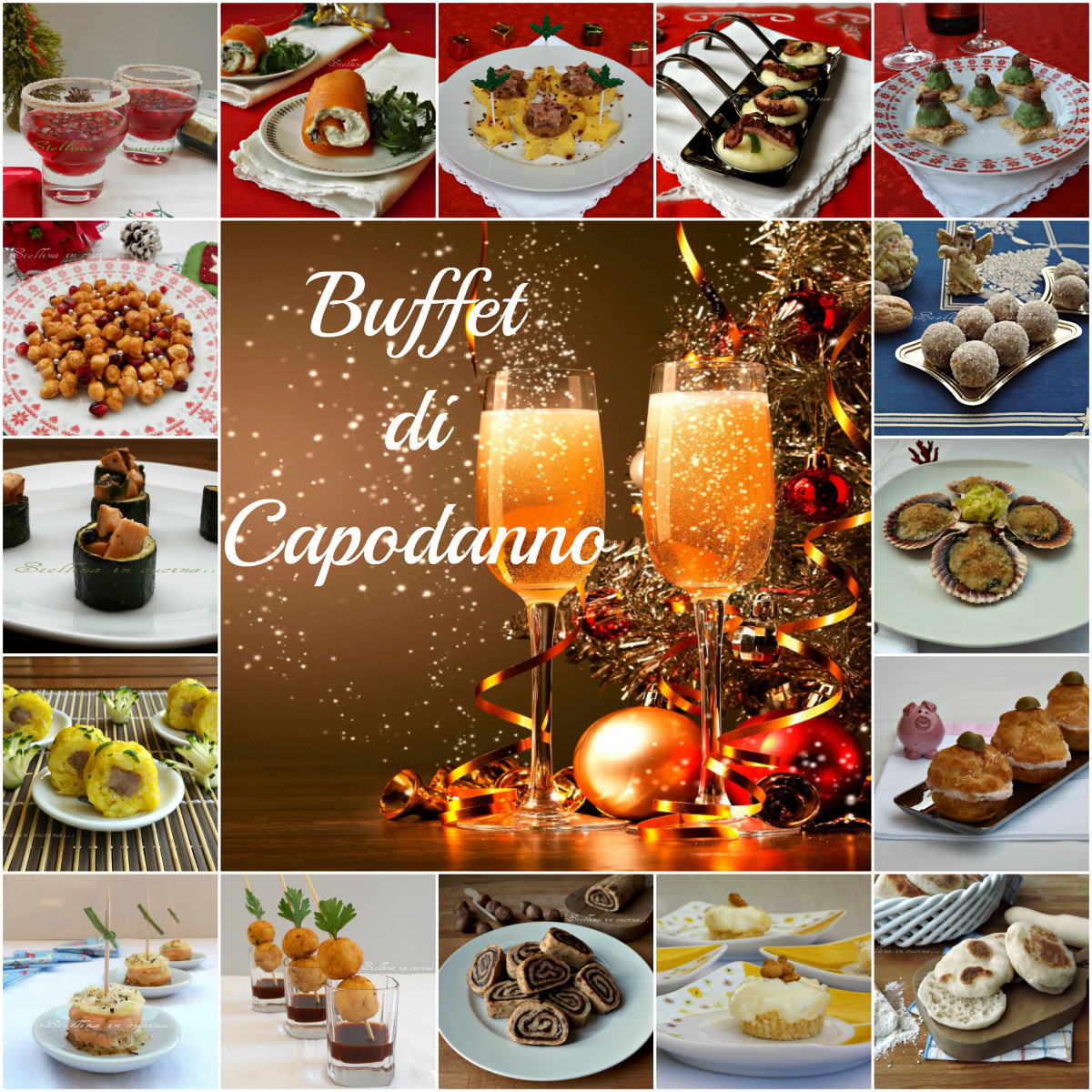 Buffet di Capodanno: ricette dolci e salate